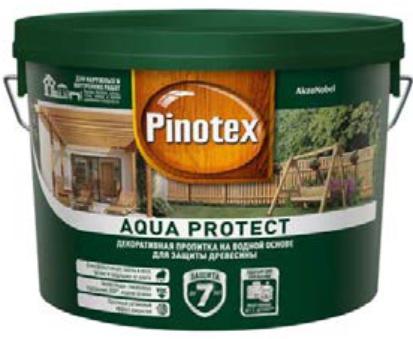 Aqua Protect Декоративно-защитная пропитка для древесины