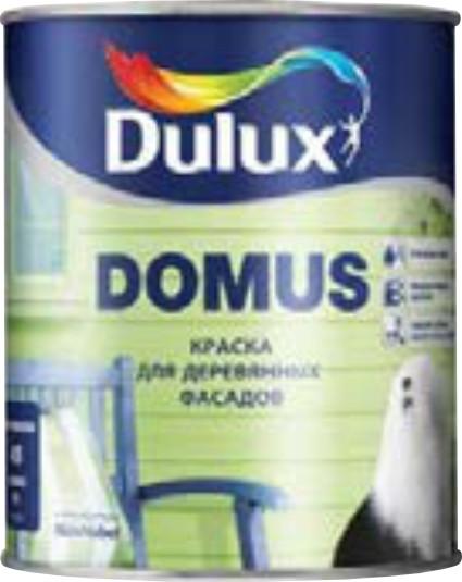 Domus Полуматовая краска для деревянных фасадов