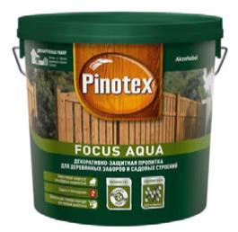 Focus Aqua Декоративнозащитная пропитка для деревянных заборов и садовых строений