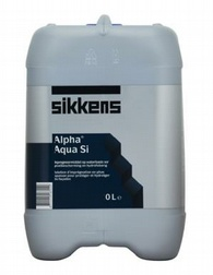 Sikkens Alpha Aqua SI Специализированный гидрофобный грунт для защиты цоколей и фасадов зданий
