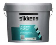 Sikkens Alphacryl Plafond Глубокоматовая краска для потолков