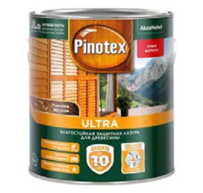 Ultra Влагостойкая защитная лазурь для древесины